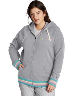 Plus Campus French Terry Zip Hoodie