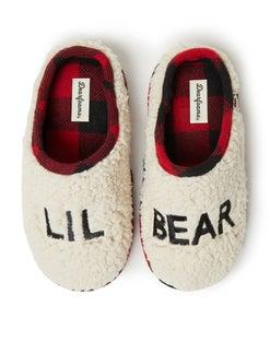Dearfoams Lil Bear Sherpa Clog Slipper
