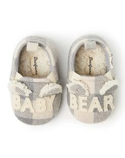 Dearfoams Baby Bear Camo Closed Back Slipper
