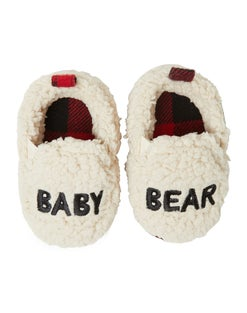 Dearfoams Baby Bear Sherpa Clog Slipper