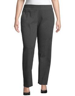 JMS Super Stretch Tummy Control Pull-On Slim Pants, Tall Length