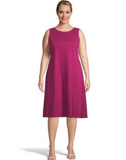 Pocket Sleeveless T-Shirt Dress