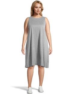 Swing Sleeveless T-Shirt Dress