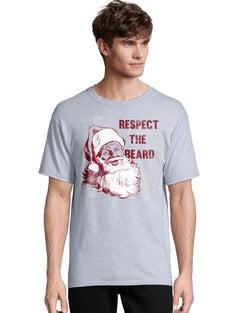 Hanes Men's Respect the Beard Short Sleeve Tee