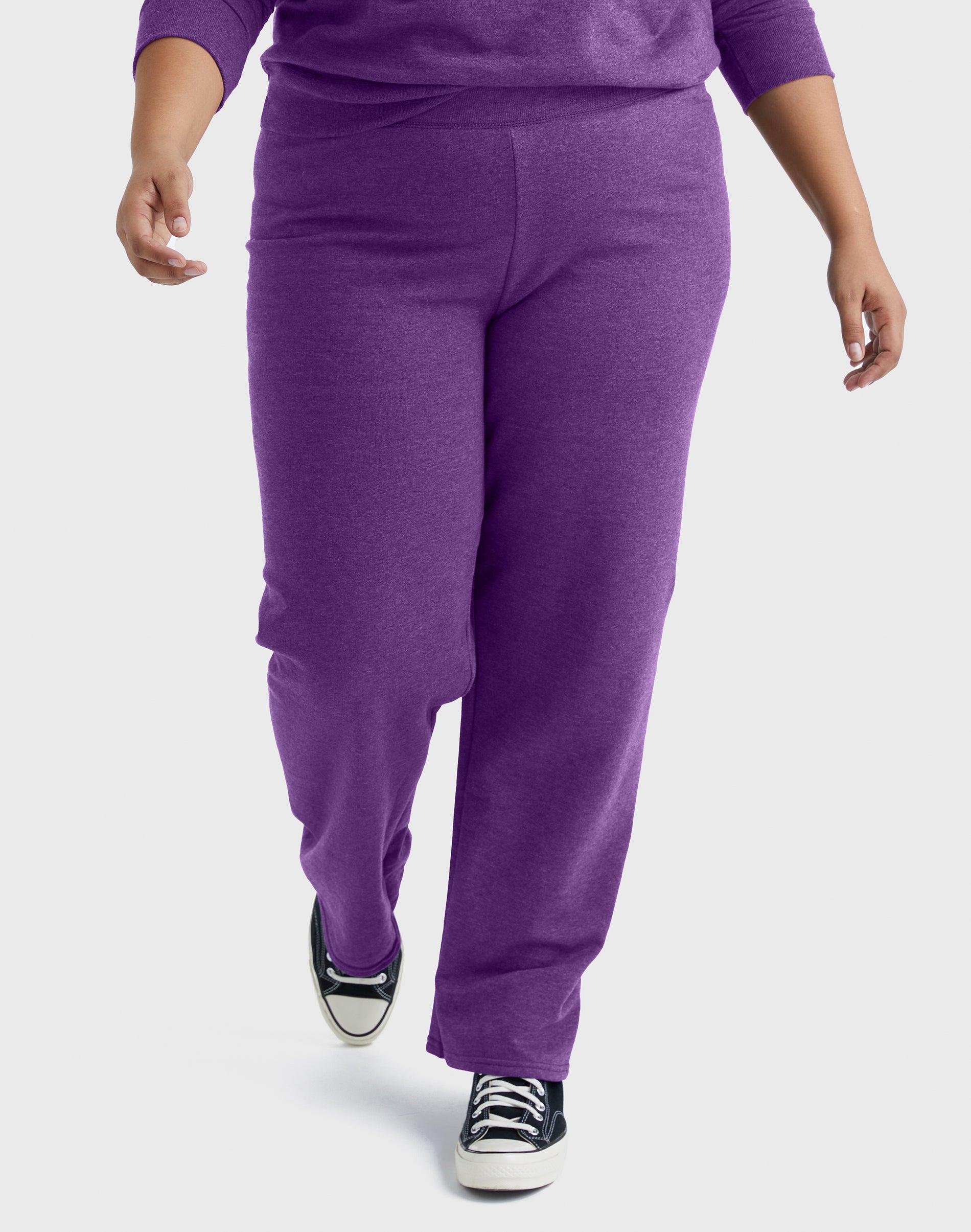 NWT  JUST MY SIZE 4X Sweat Pants Cotton Rich Fleece Lined  Cornflower Blue