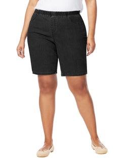 JMS Pull-On Denim Bike Shorts