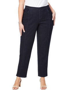 JMS 2-Pocket Pull On Jeans with Front Seams