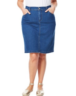 JMS 5-Pocket Skirt with Back Elastic