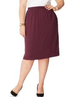 JMS On The Go Elastic Waist Skirt