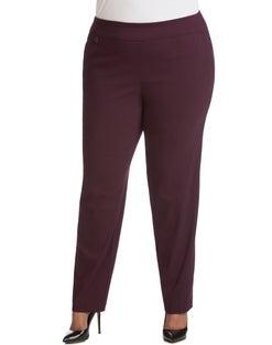 JMS Super Stretch Tummy Control Pull-On Slim Pants, Average Length
