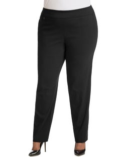 JMS Super Stretch Tummy Control Pull-On Slim Pants, Petite Length