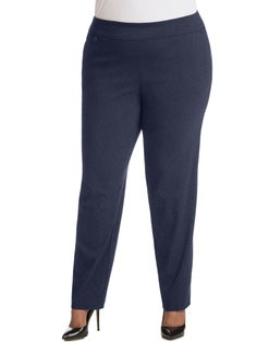 JMS Super Stretch Tummy Control Pull-On Slim Pants, Petite Length