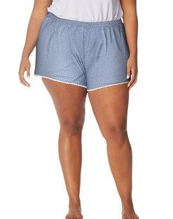 JMS Cool Girl Lace Trim Sleep  Shorts