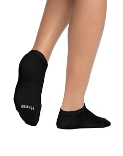 Hanes ComfortSoft® Women's Low Cut Socks, Fits shoe sizes up to 8-12, 3-Pack