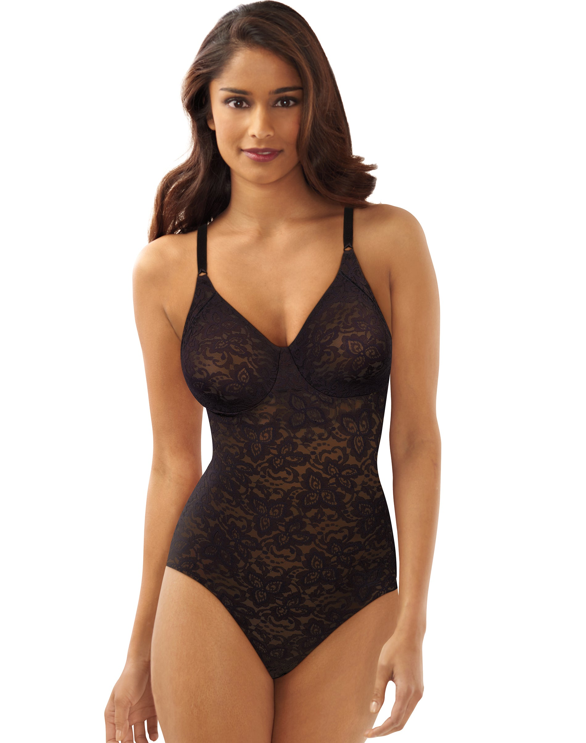 Bali Body Shaper Black 34B Women's