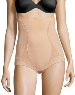 Maidenform High Waist Shaping Brief with Cool Comfort™ and Anti-Static