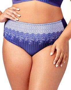 Elila Printed Lace Panty
