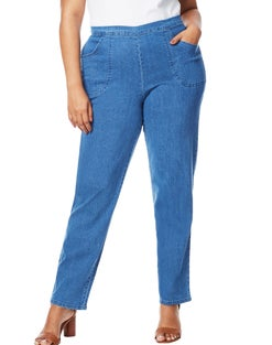 JMS 2-Pocket Flat-Front Jeans, Petite Length