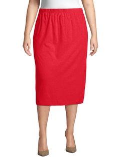 Jersey Matchables A-Line Skirt