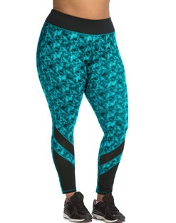 JMS Active Leggings with Mesh Insets