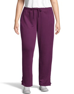 JMS French Terry Lace Up Pant
