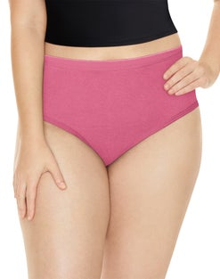 Playtex Cotton Comfort Briefs, 5-Pack