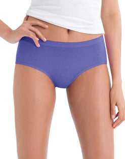 Hanes Cool Comfort™ Women's Cotton Low Rise Brief Panties 6-Pack