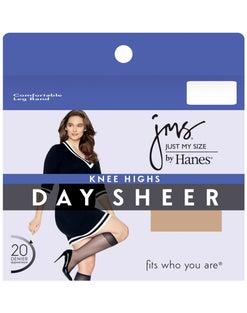 JMS Knee Highs, Sheer Toe 12-Pack