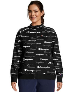 Plus Track Jacket, All Over Logo