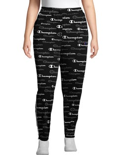 Track Pants, All Over Logo