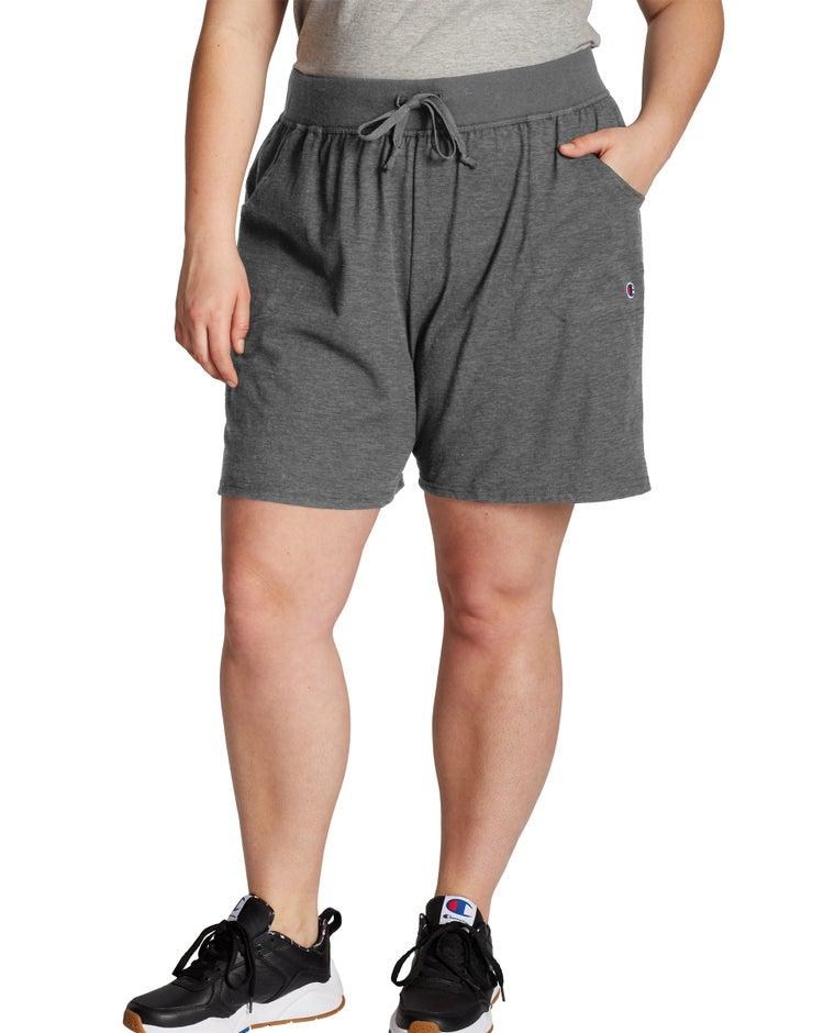 Champion Women's Plus Jersey Shorts