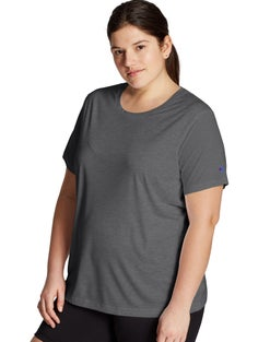 Plus Double Dry Heather Tee