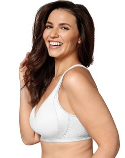 Playtex 18 Hour 4049 Side & Back Smoothing with Cool Comfort®  Wirefree Bra