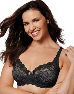 Playtex Secrets Beautiful Lift Unlined Underwire Bra